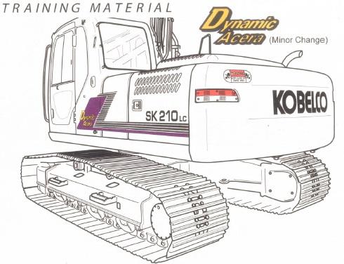 Kobelco SK160LC-6E, ED190-6E, SK210LC-6E, SK250LC-6E
