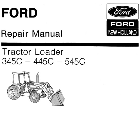 Ford New Holland 345C – 445C
