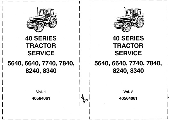 Ford New Holland 40 Series 5640, 6640, 7740, 7840, 8240