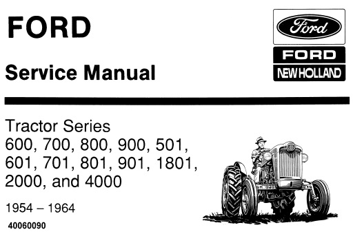 Ford New Holland 600, 700, 800, 900, 501, 601, 701, 801