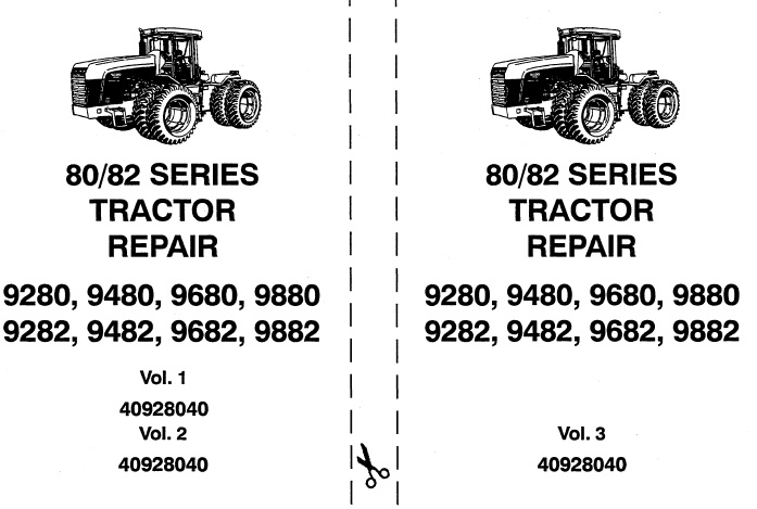 Ford New Holland 80/82 Series (9280, 9480, 9680, 9880