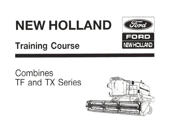 New Holland TF and TX Series Training Course Manual