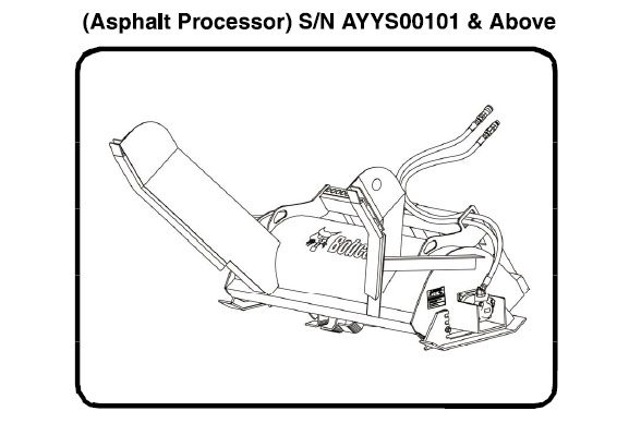 Bobcat Asphalt Processor Service Repair Manual