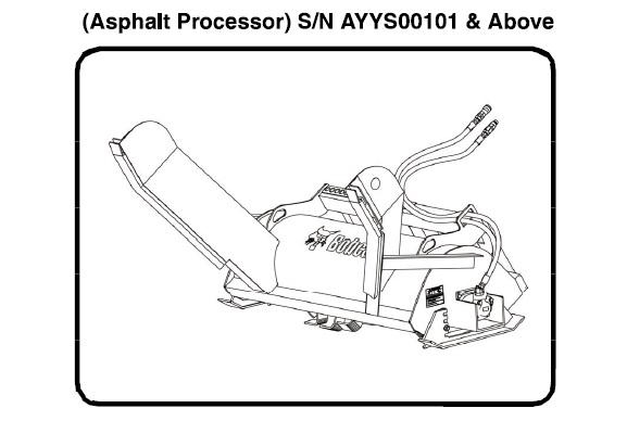 Bobcat Asphalt Processor Service Repair Manual