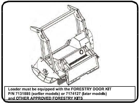 Bobcat Forestry Cutter (FRST CTTR FRC150) Service Repair
