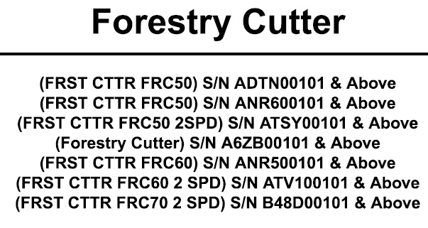 Bobcat Forestry Cutter Service Repair Manual #3