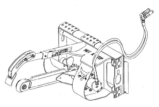 Bobcat LT112, MX112, LT113, LT213, LT313, LT414 Trencher