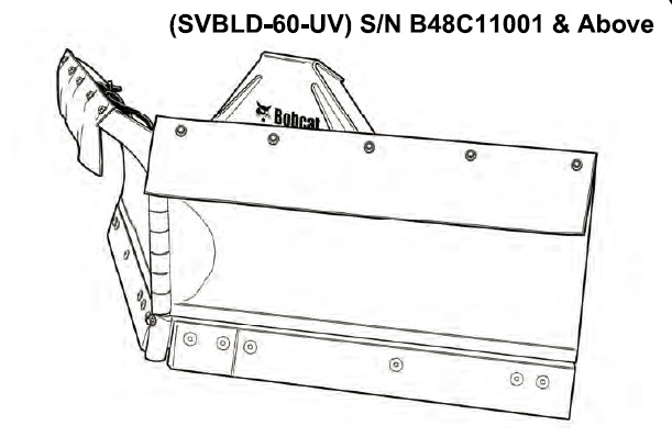 Bobcat SVBLD-60-UV V-Blade Service Repair Manual