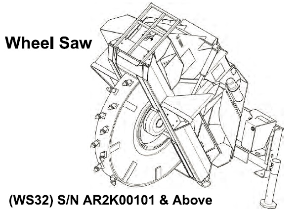 Bobcat WS32 Wheel Saw Service Repair Manual