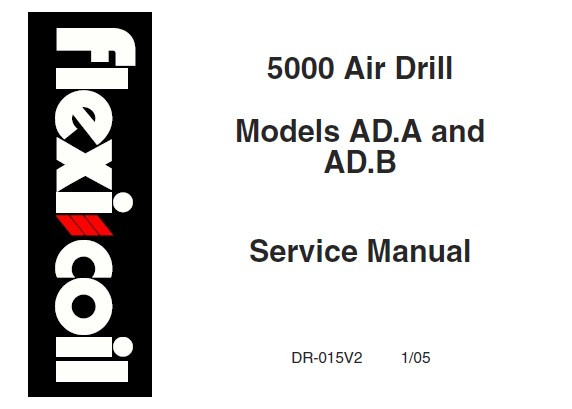 Flexi Coil 5000 Air Drill (Models AD.A & AD.B) Service