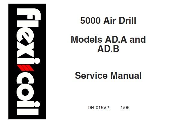 Flexi Coil 5000 Air Drill (Models AD.A & AD.B) Service