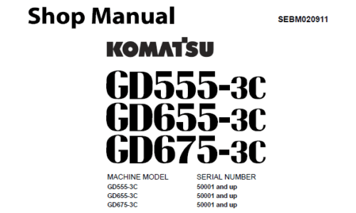 Komatsu Motor Grader
