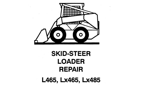 New Holland L465 , Lx465 , Lx485 Skid Steer Loader Service