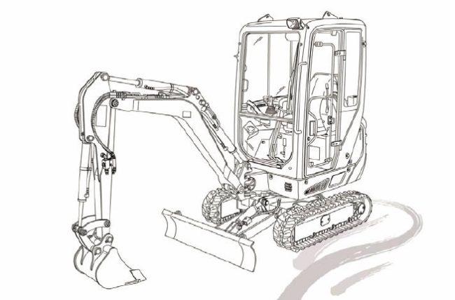 Takeuchi TB216 mini Excavator Parts Manual