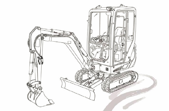 Takeuchi TB216 mini Excavator Parts Manual