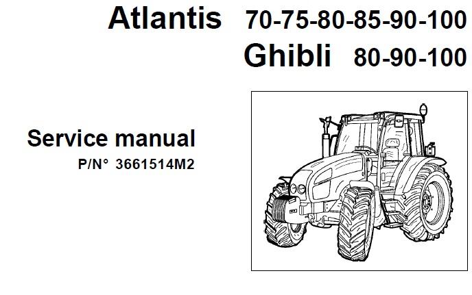 Landini Atlantis 70 – 75 – 80 – 85 – 90