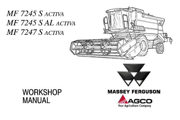 Massey Ferguson MF7245S Activa, MF7245S AL Activa, MF7247S