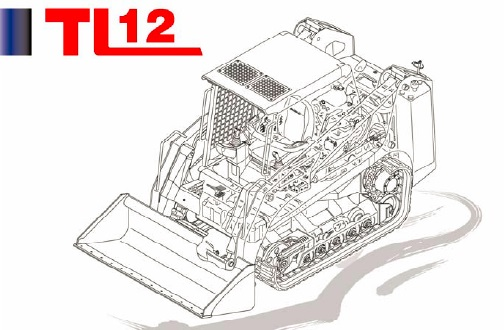 Takeuchi TL12 Track Loader Parts Manual