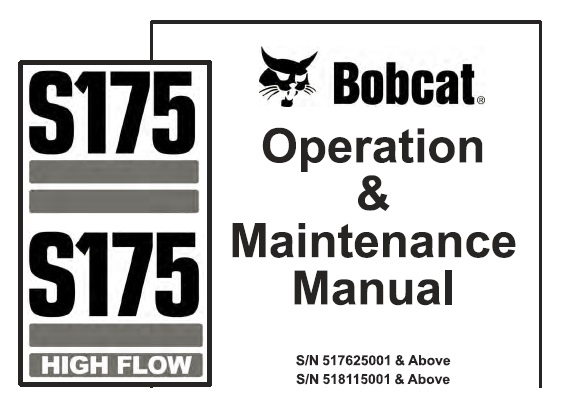 Bobcat S175 , S175 High Flow Skid Steer Loader Operation