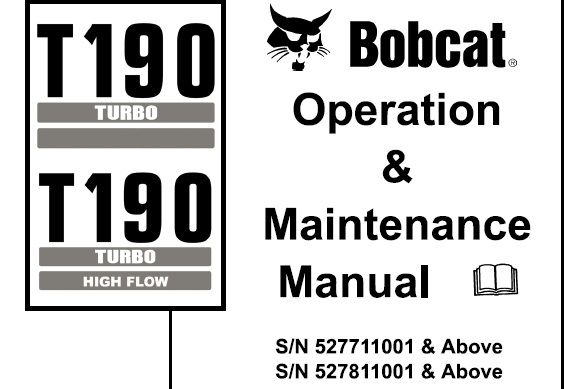 Bobcat T190 Turbo / Turbo High Flow Compact Track Loader