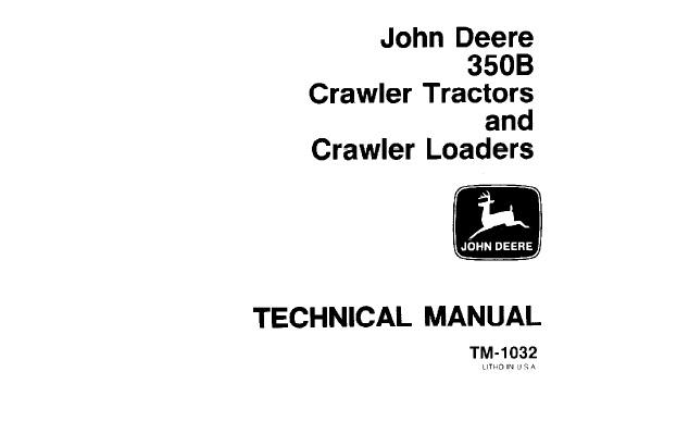 John Deere 350B Crawler Tractors & Crawler Loaders