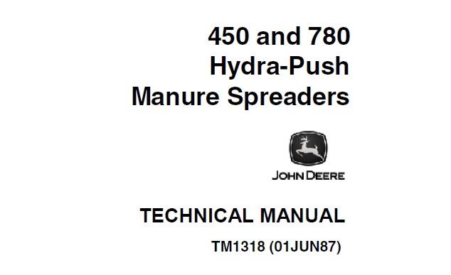 John Deere 450, 780 Hydra