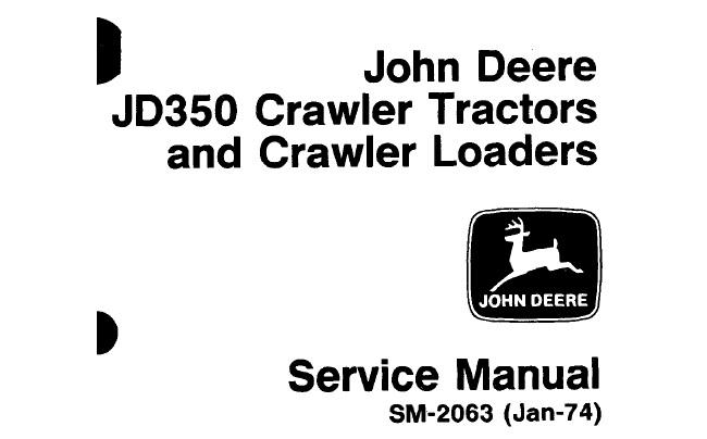 John Deere JD350 Crawler Tractors & Crawler Loaders