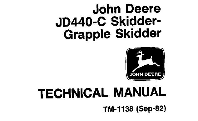 John Deere JD440-C Skidder