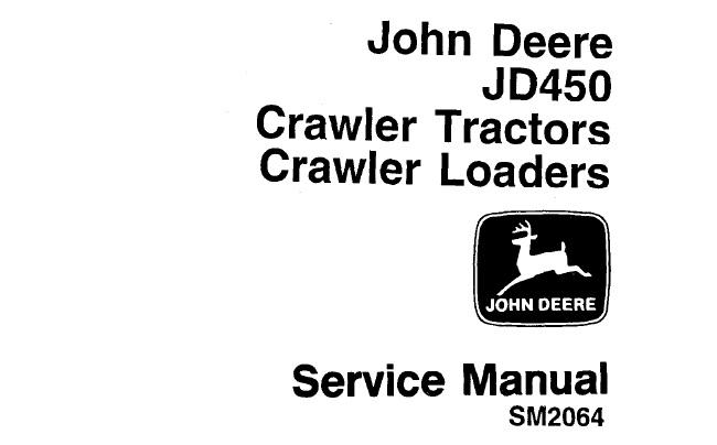 John Deere JD450 Crawler Tractors & Crawler Loaders