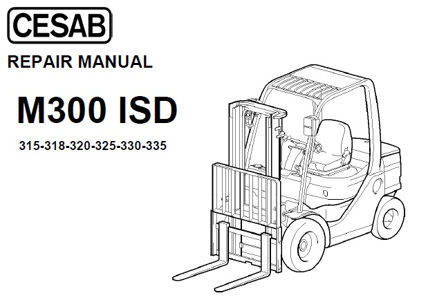 Cesab M300 ISD Series 315 – 318 – 320 – 325 – 330