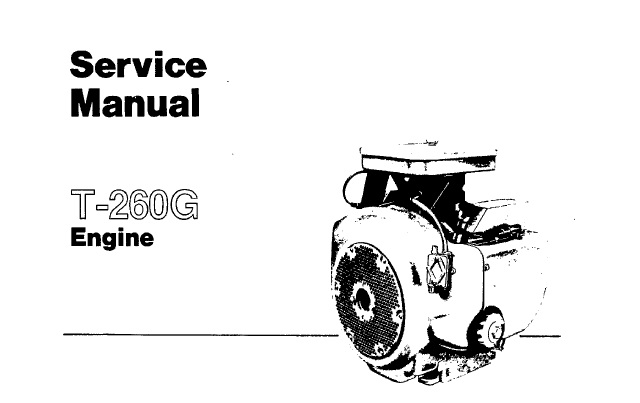 Onan T-260G Engine Service Repair Manual