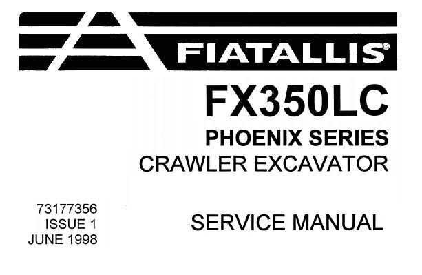 Fiat Allis FX350LC (Phoenix Series) Crawler Excavator