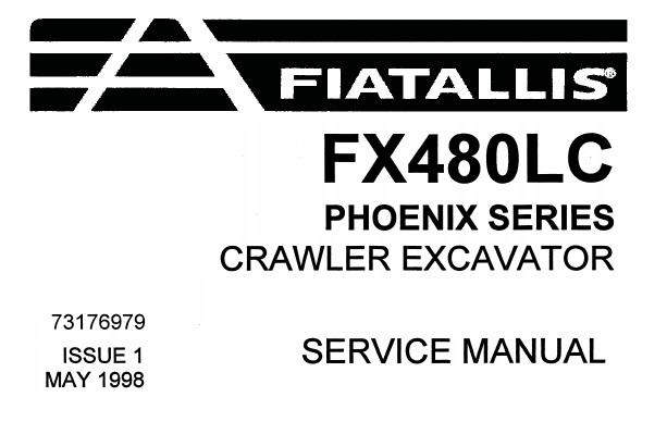 Fiat Allis FX480LC (Phoenix Series) Crawler Excavator