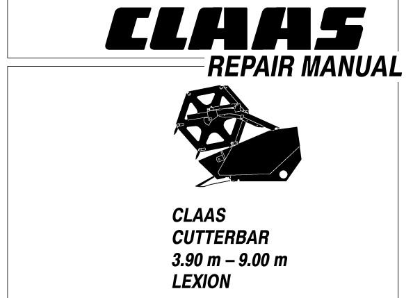 Claas Cutterbar 3.90 m
