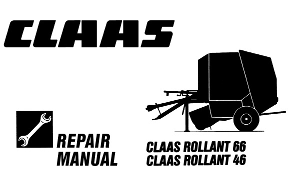 Claas Rollant 66 , 64 Baler Service Repair Manual