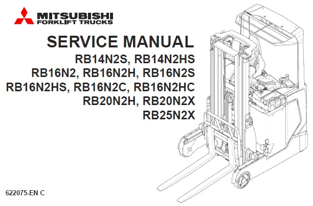 Mitsubishi RB14N2S, RB14N2HS, RB16N2, RB16N2H, RB16N2S