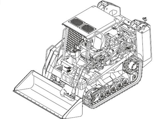 Gehl CTL60 Compact Track Loader Service Repair Manual