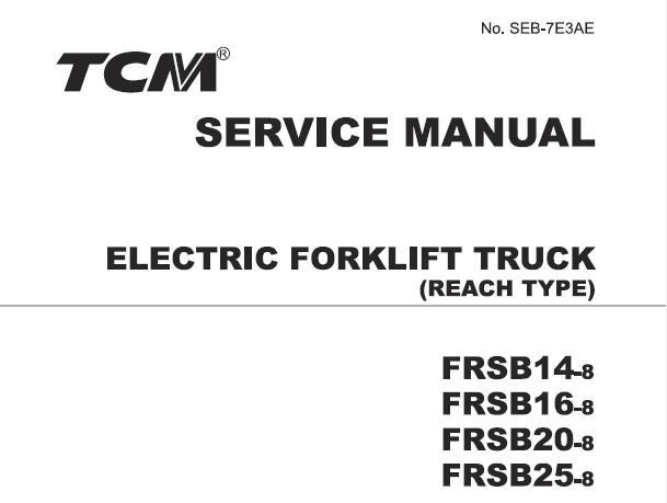 TCM FRSB14-8, FRSB16-8, FRSB20-8, FRSB25-8 Electrical