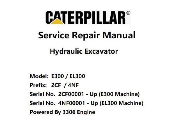 Caterplliar Cat E300 , EL300 (2CF & 4NF, 3306 Engine