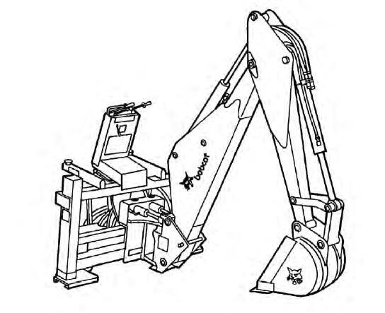 Bobcat Backhoe Service Repair Manual