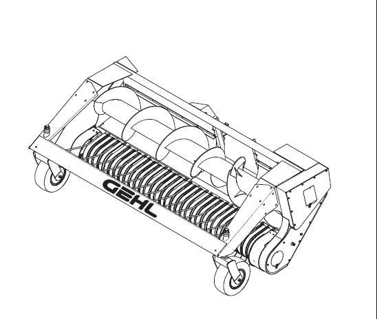 Gehl HA1240 Hay Attachment Parts Manual