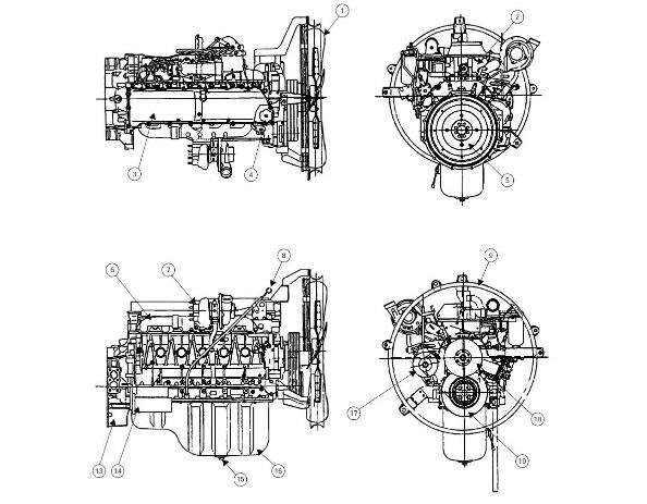 Case Isuzu 6HK1 Engine Service Repair Manual