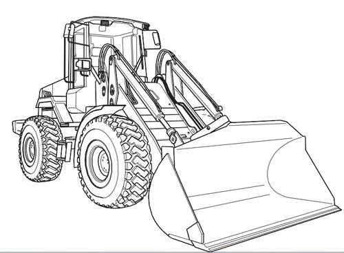 ™️ JCB 411 416 Wheeled Loader Service Repair Manual