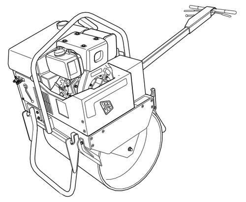 ™️ JCB Vibromax VMS 71 Mini Road Roller Service Repair