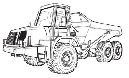JCB Articulated Dump Truck 722 Service Repair Manual