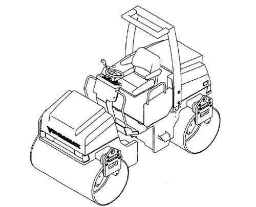 ™️ Vibromax 355 365 455 465 Roller Service Repair Manual