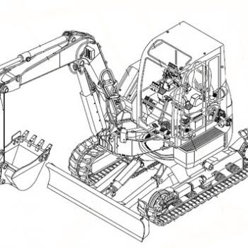 [PDF] Takeuchi TB025 TB030 TB035 Compact Excavator Service