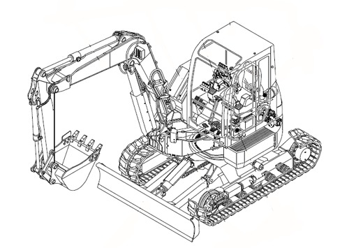 ™️ Takeuchi TB153FR Compact Excavator Parts Manual