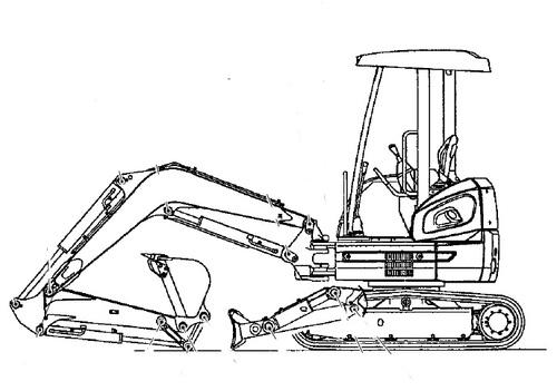 Fiat Kobelco E20.2SR E22.2SR E27.2SR Hydraulic Exavator