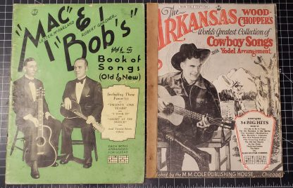Two 1931 Dated Song Books